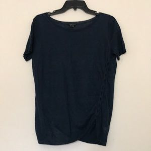 Theory Sol Sag Harbor Lightweight Linen Top